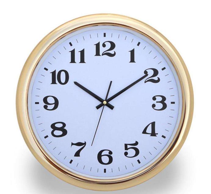 挂钟新发条上足能走多少个小时?