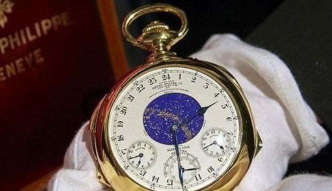 世界最贵的表:百达翡丽HenryGraves