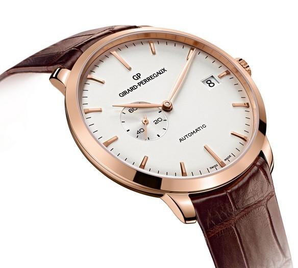 美好时光 GP芝柏表1966系列小秒针和日期腕表推荐