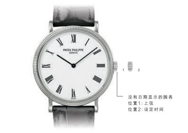 Patek Philippe 百达翡丽Calatrava系列5153J腕表时间、日期调校方法