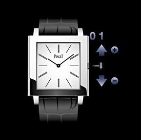 Piaget伯爵机械表时间、日历调校方法