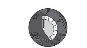 天梭石英万年历表时间、日期设置和重置指示器方法