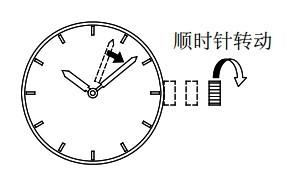 orient东方双狮DJ(40P)腕表时间、日期设置方法