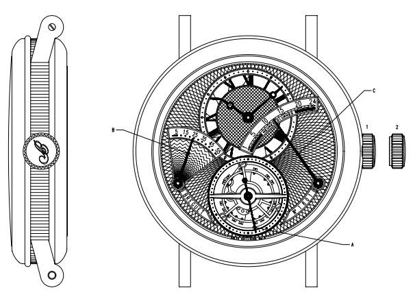 宝玑Classique 腕表系列3657BA/12/9V6 时间调校方法