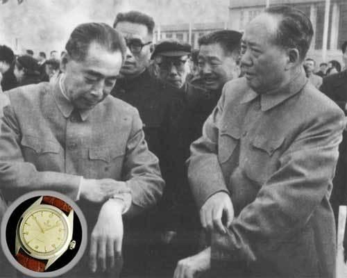 毛泽东戴了31年的欧米茄手表