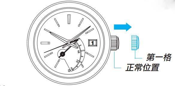 精工手表日历怎么调_精工日期与时间的调整方法图解