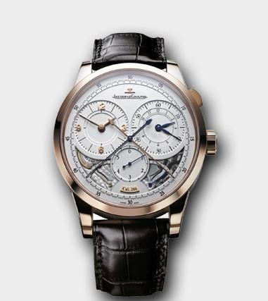 微型机械艺术珍品 四款积家全新Duomètre à Chronographe双翼计时腕表