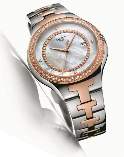 时尚劳模:黄晓明代言天梭手表2013广告 2013天梭经典女表