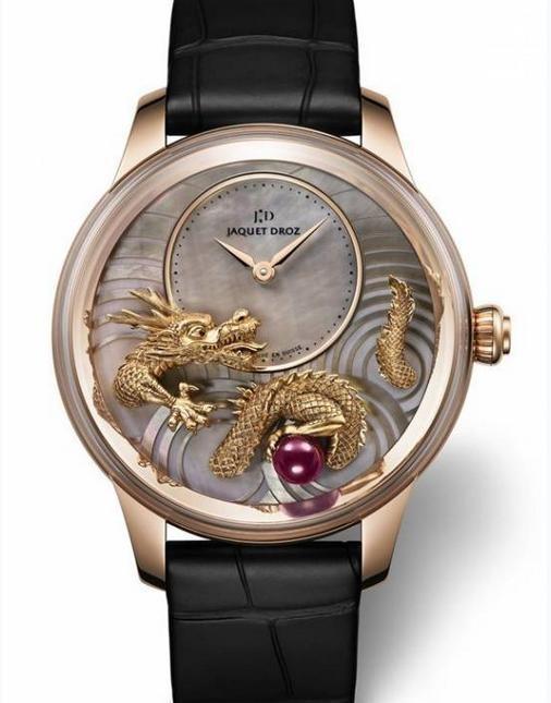 2012巴塞尔经典表款:JAQUET DROZ雅克德罗金龙吐珠限量珍藏腕表