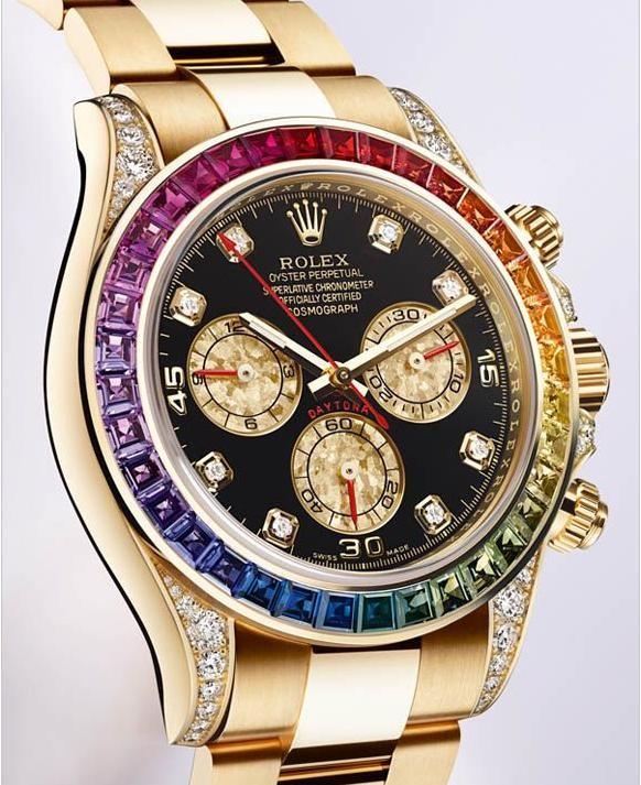 2012巴塞尔经典表款:Rolex劳力士新迪通拿腕表116598 Rbow