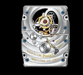伯爵表机芯 伯爵陀飞轮600P机芯介绍、图片、表款