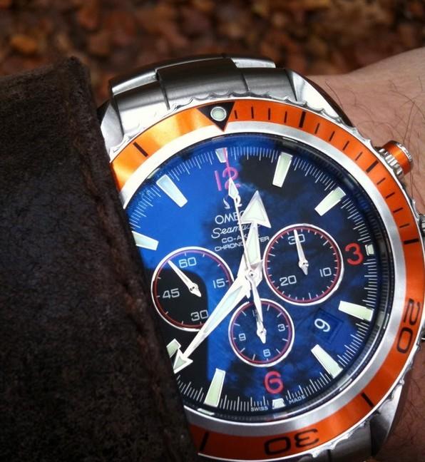 金属感重手表