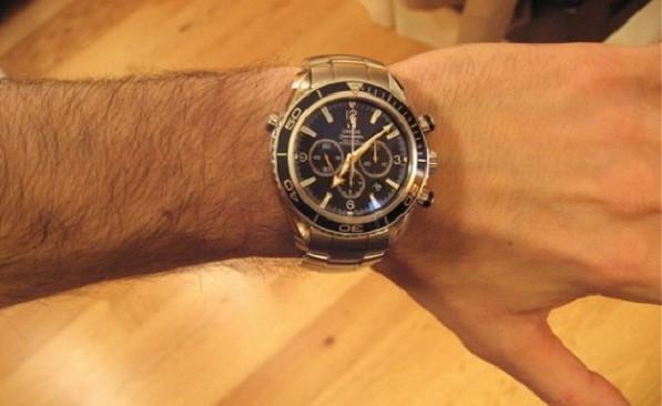 金属感手表