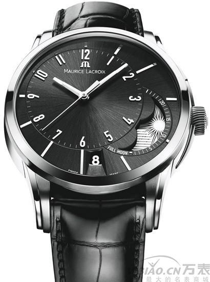 艾美 奔涛系列偏心月相手表