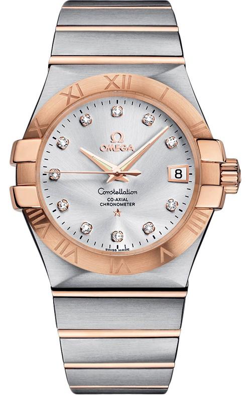 欧米茄手表如何调整时间和日期方法