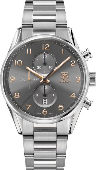 豪雅手表怎么调时间和日期