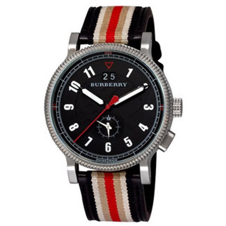 巴宝莉Burberry手表怎样调日期和时间