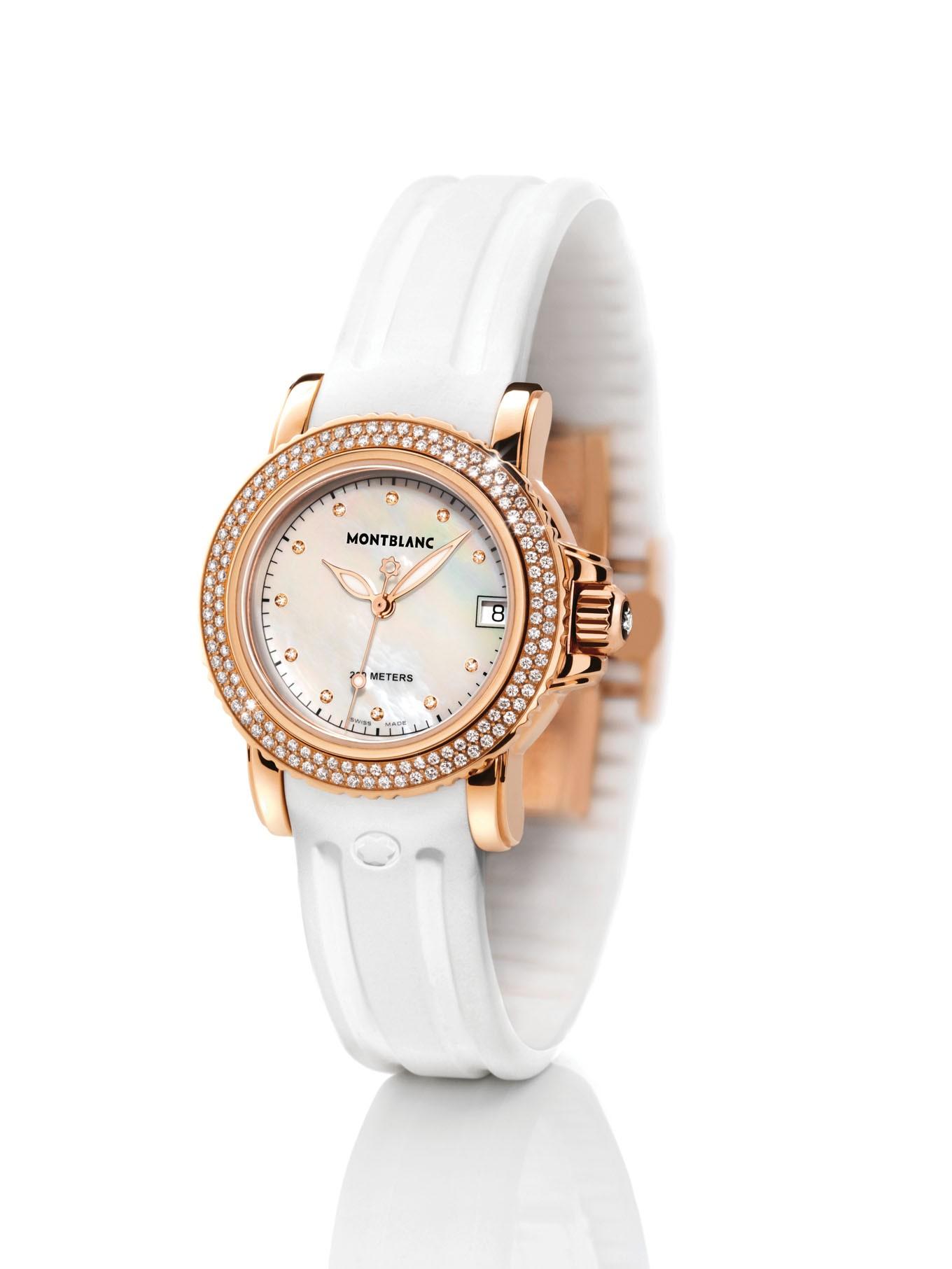 万宝龙(montblanc)手表怎么调时间和日期