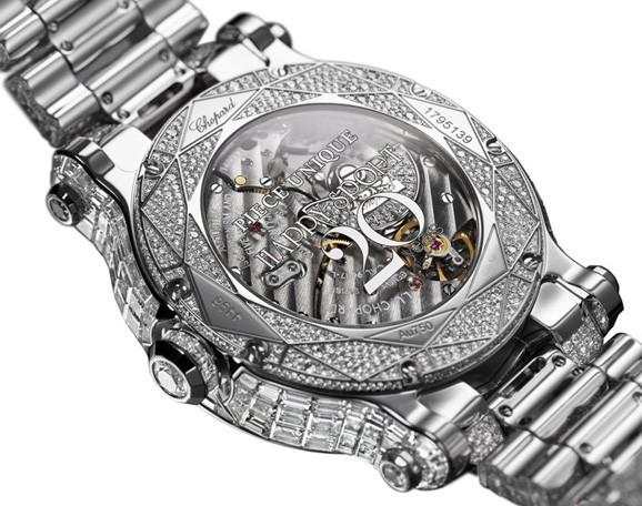 萧邦(Chopard)推出全新Happy Sport Diamantissimo腕表