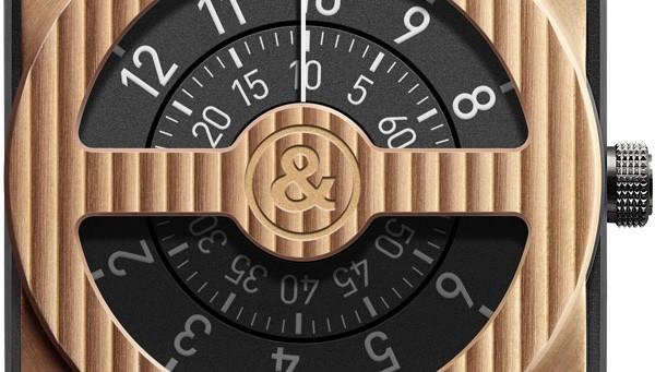 柏莱士BR 01-92 Compass 柏莱士限量版新品黄金罗盘手表