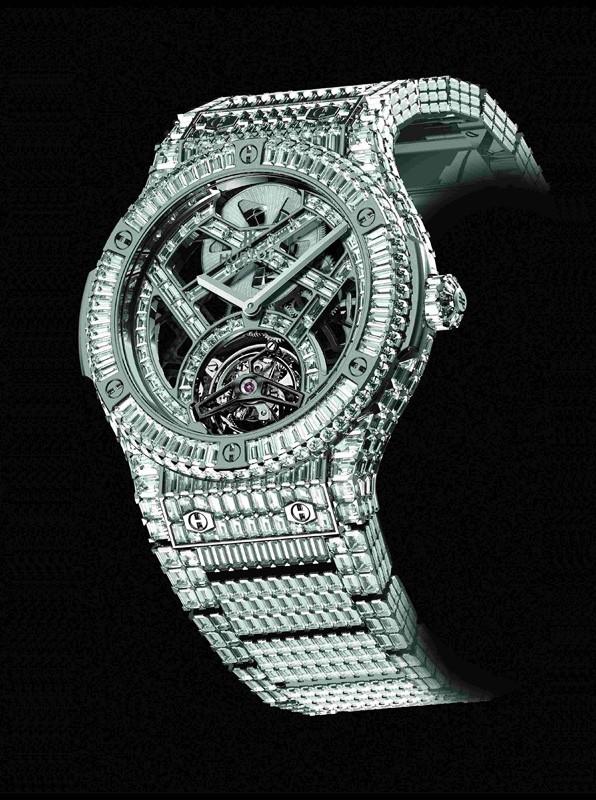 宇舶Haute Joaillerie百万美元限量高级珠宝表