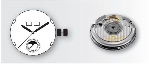 浪琴自动上链机械机芯L602,浪琴机芯L602表款推荐