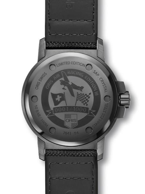 豪利时(Oris)征服天际 第三代Air Racing飞行腕表