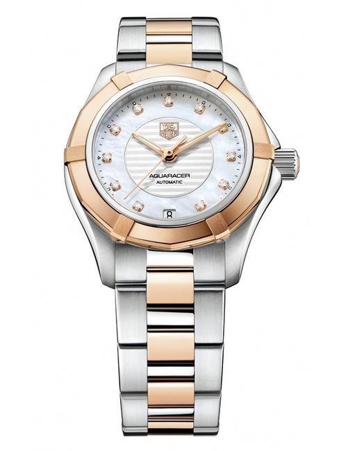 佳人在水一方 豪雅全新Aquaracer Lady腕表