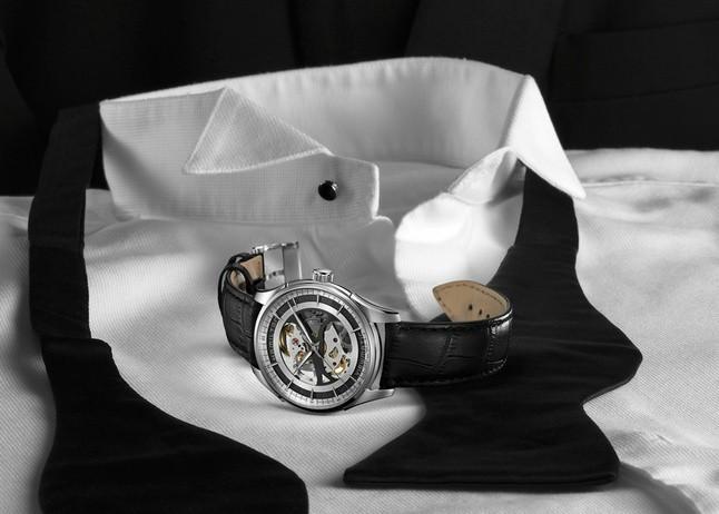 Hamilton汉米尔顿爵士全镂空腕表
