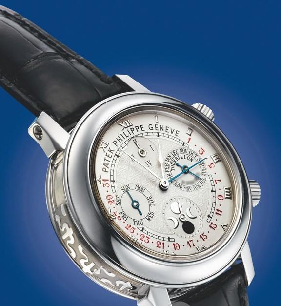 百达翡丽最贵的表是哪一款?