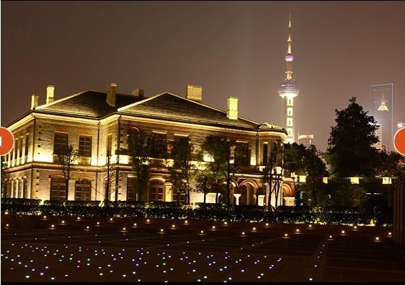 上海百达翡丽源邸夜景