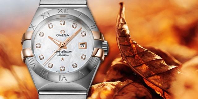 欧米茄omega 星座系列双色腕表