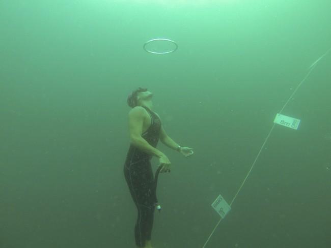 豪利时深度测量潜水表