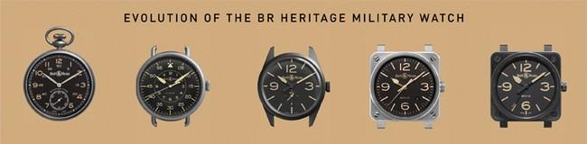 Heritage系列表壳的进程