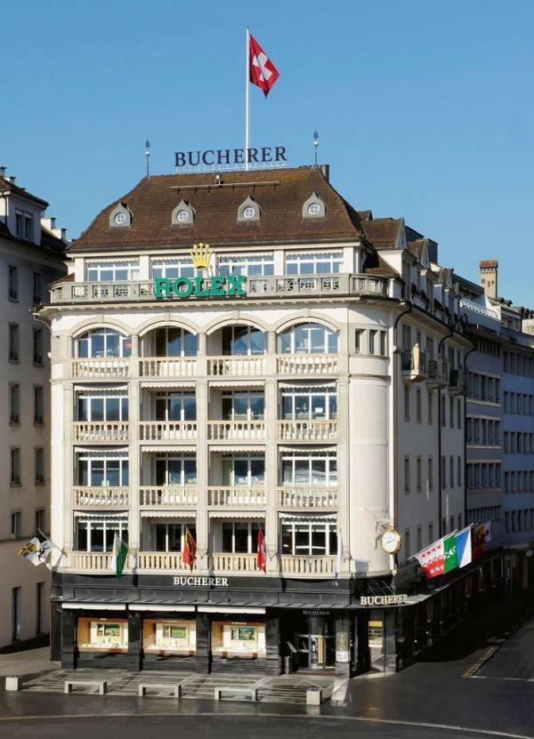 去瑞士买表哪些店好?瑞士琉森钟表店推荐