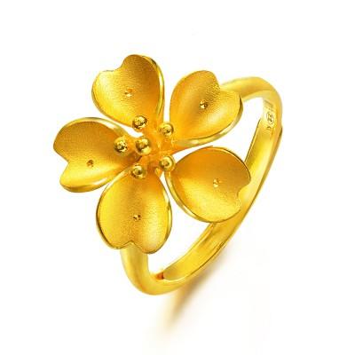 2013周生生婚嫁系列新款黄金戒指推荐