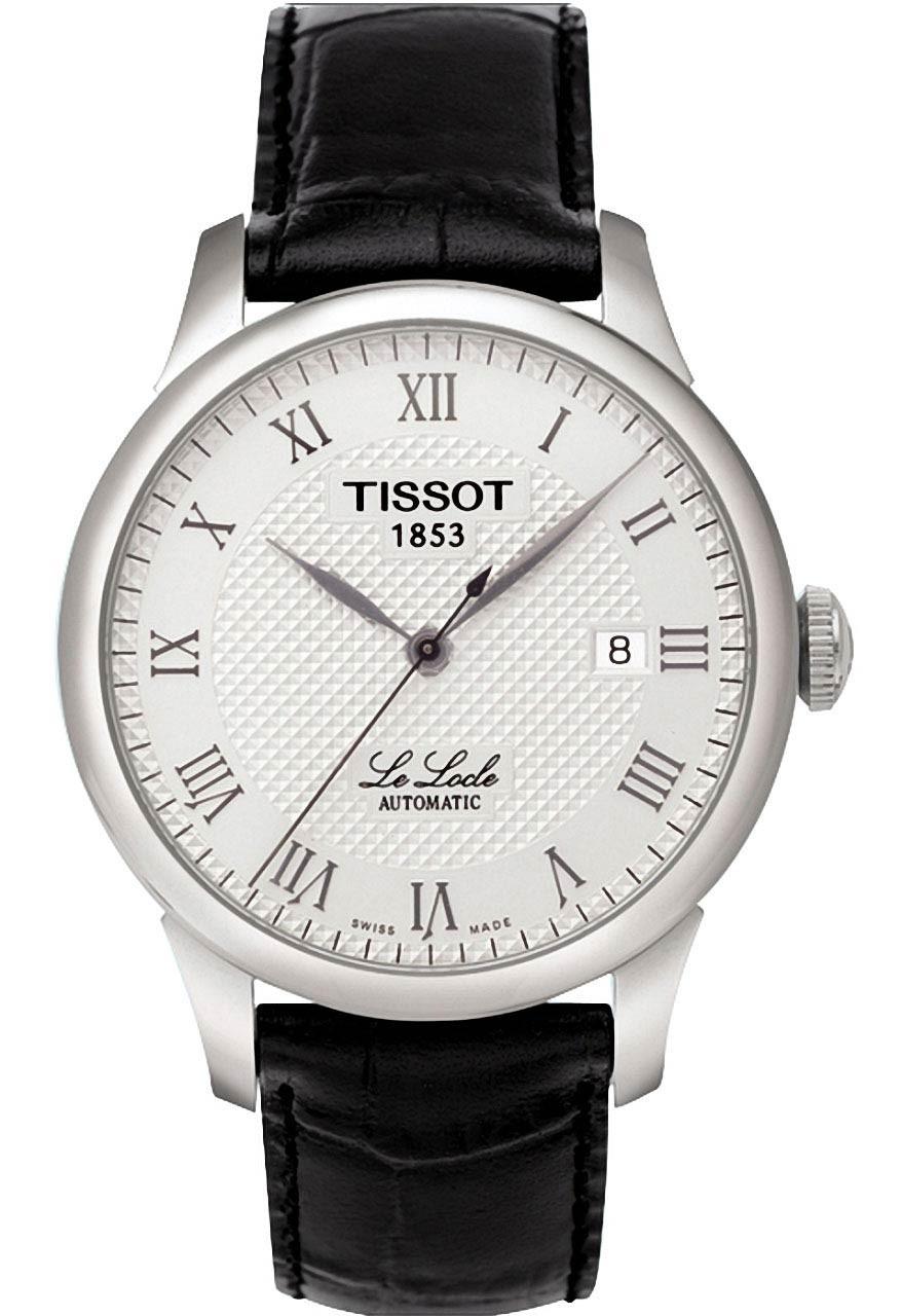 天梭Tissot-力洛克系列 T41.1.423.33 男士机械表