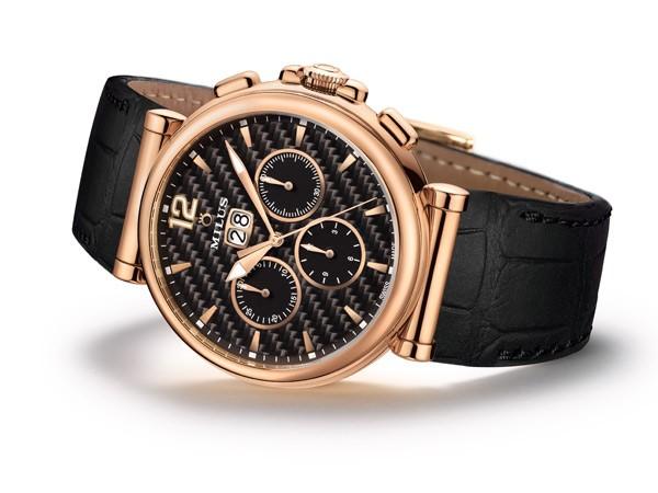 Milus美利时全新Zetios Chronograph计时腕表