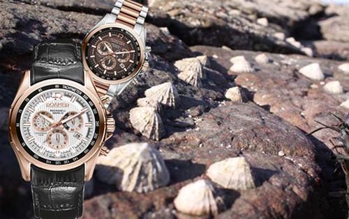 ROAMER罗马表 岩螺多功能系列新款腕表