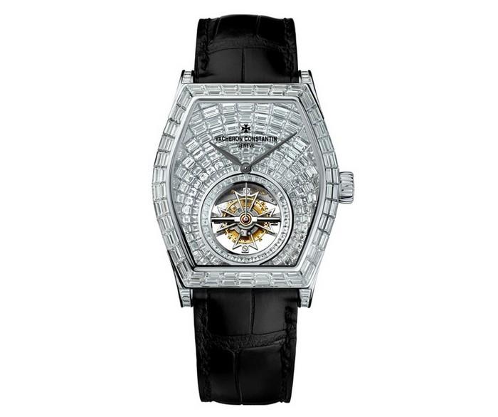 江诗丹顿陀飞轮手表,江诗丹顿马耳他系列高级珠宝陀飞轮腕表