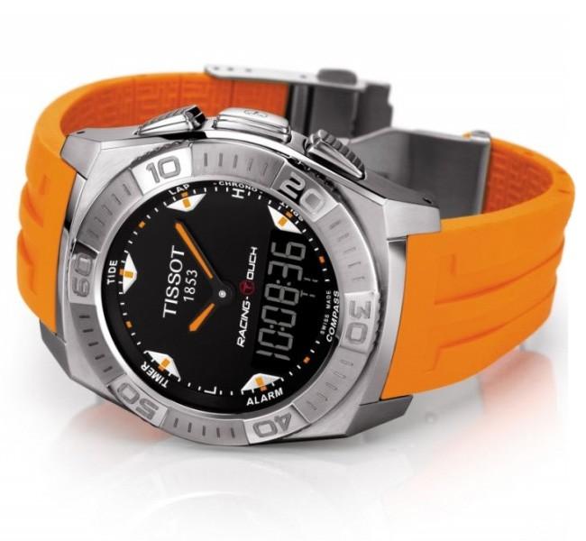 天梭触屏系列T002.520.17.051.01腕表