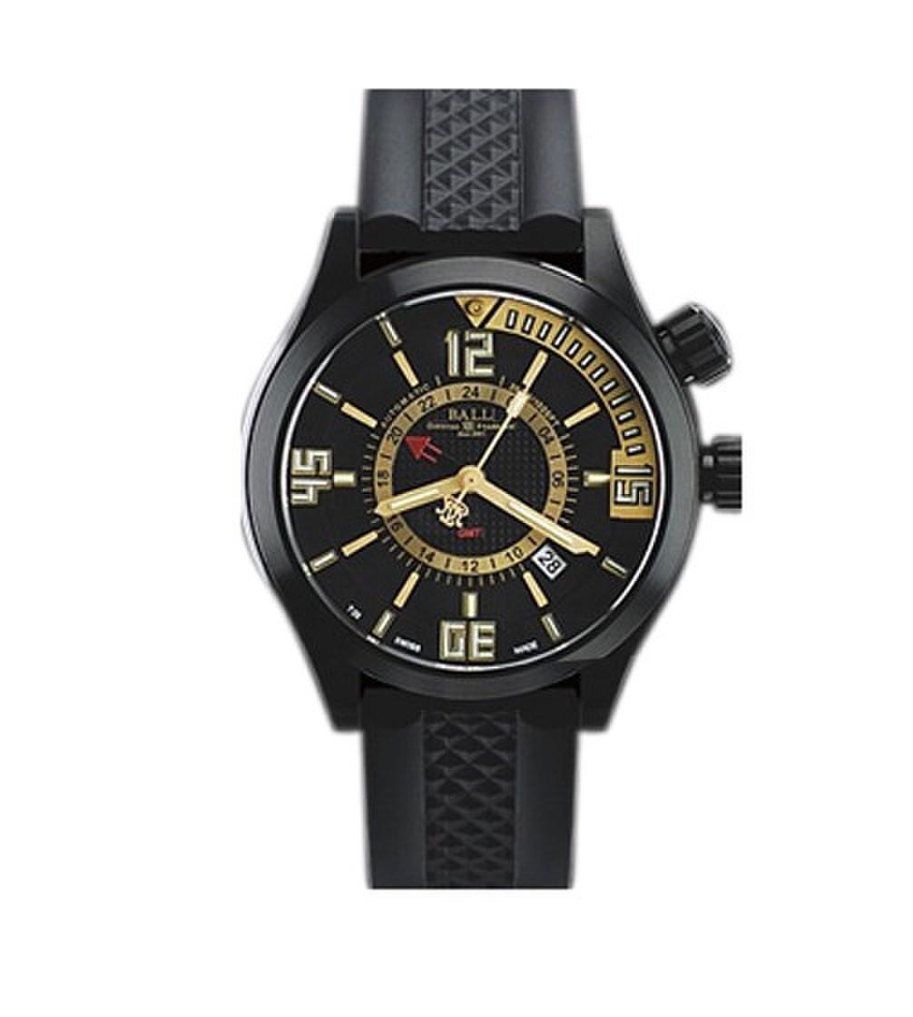 波尔工程师长官升级系列DG1020A-PAJ-BKSL(银色潜水计时圈)手表