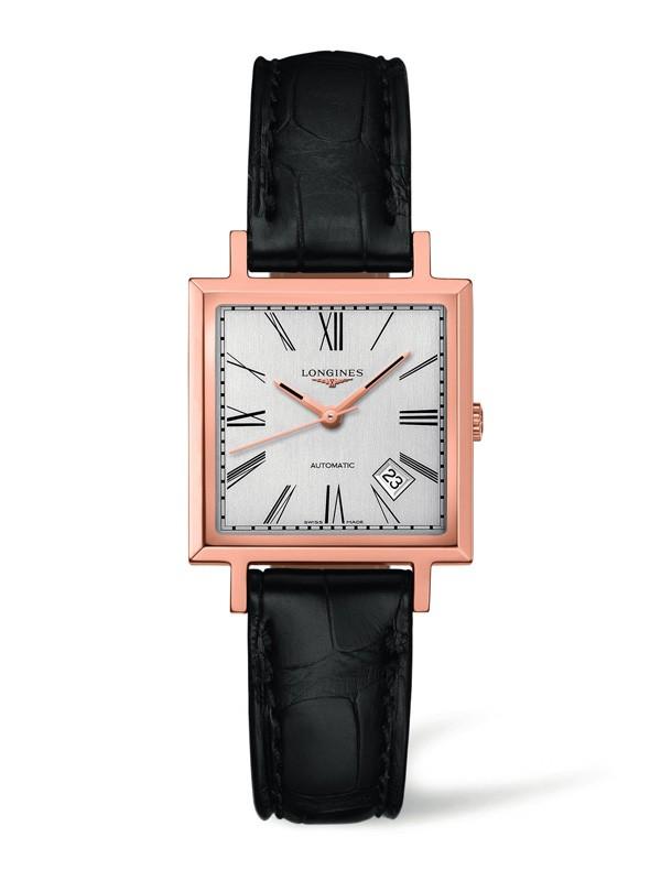 浪琴表新款,浪琴经典复刻系列1968方形复古腕表