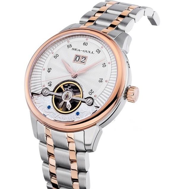海鸥机械手表,海鸥商务运动表系列217.413腕表