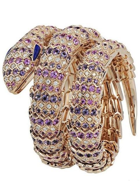 宝格丽Serpenti Haute Joaillerie高级珠宝腕表