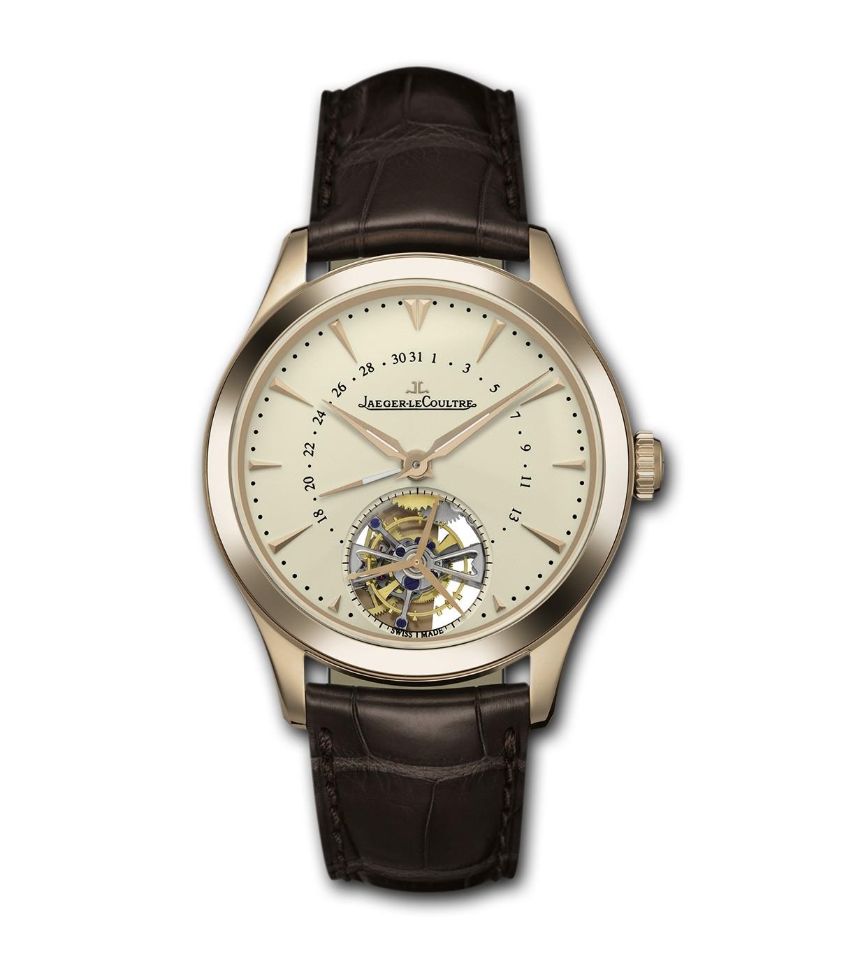 积家陀飞轮手表,积家大师系列两款陀飞轮手表