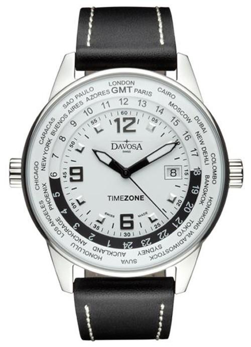 迪沃斯手表,瑞士迪沃斯GMT两地时表