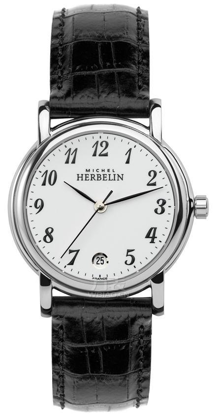 推荐三款百搭中性手表之:赫柏林-Classic Gents系列 12432/28 中性石英表