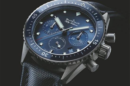 宝珀五十噚系列Bathyscaphe飞返计时腕表