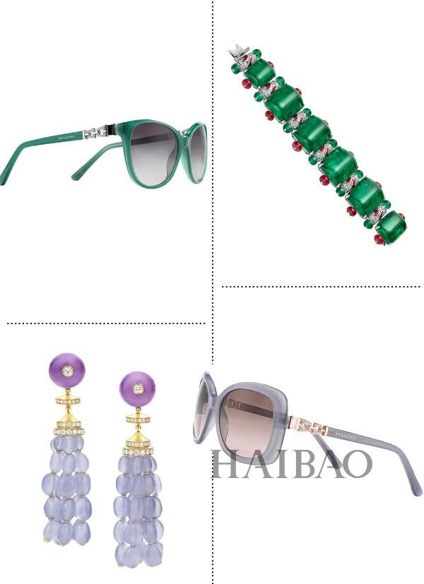 宝格丽珠宝与太阳眼镜的完美融合,上演最耀眼夺目的华美盛宴